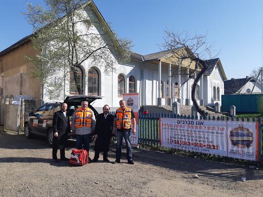 """איחוד הצלה אוקראינה באבטחת המסע ההיסטורי """"שיתחדש המלוכה"""" של סערט ויזניץ"""